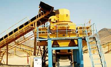 sand making machine in the sand production line
