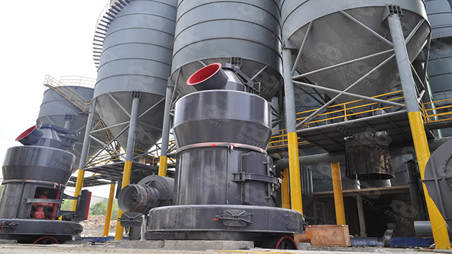 2000TPD Lime Grinding Plant